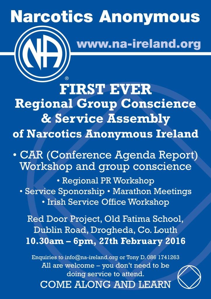 Regional Service Assembly 2016