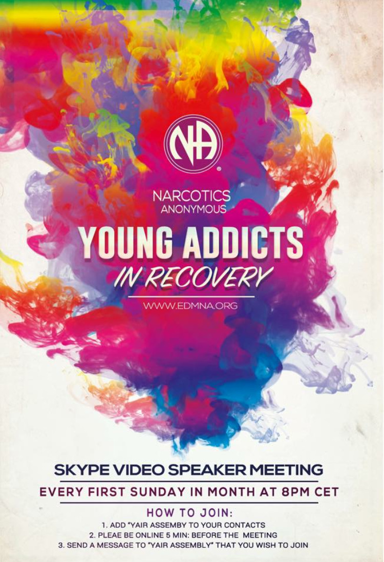 Young Adults Skype Meeting