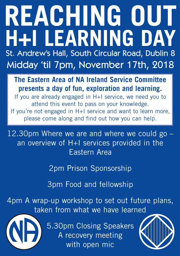 H&I Learning Day – November 2018