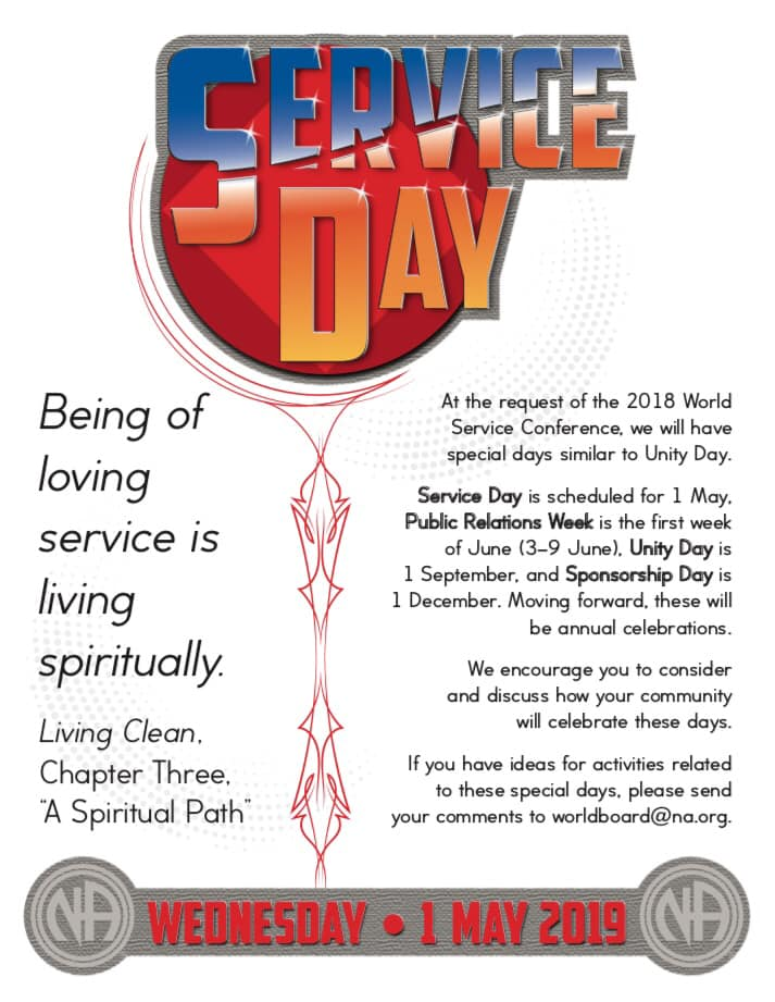 Service Day May 1st 2019