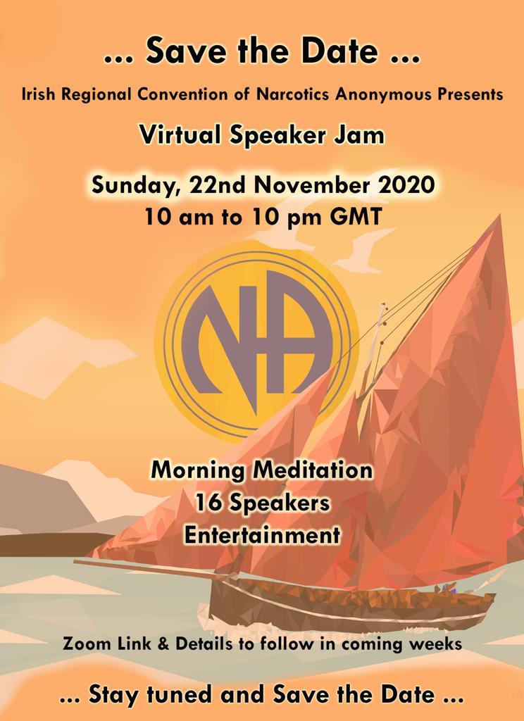 Speaker Jam 22nd November 2020